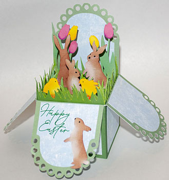 Easter Pop-Up Box Card